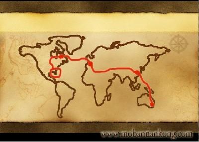 用会声会影制作地图特效,在地图上描绘线路