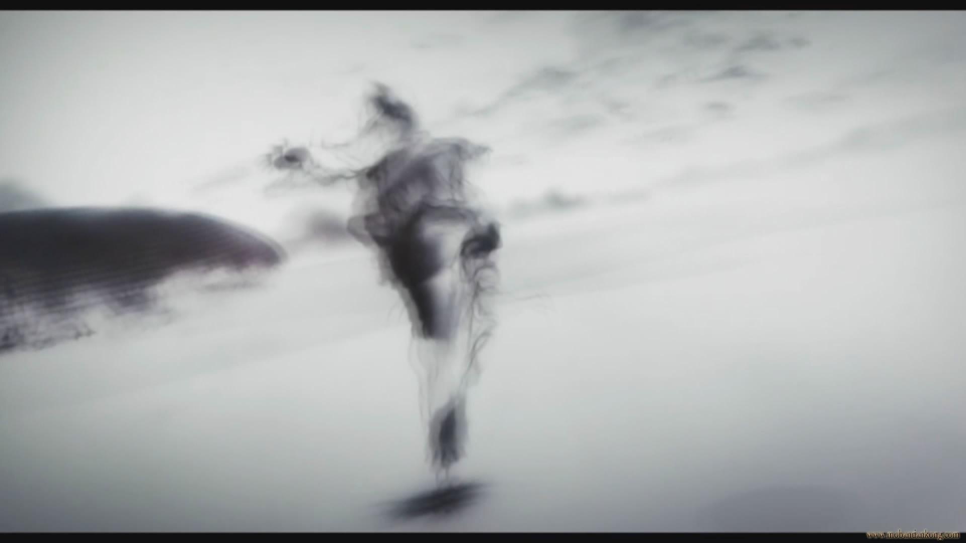 中央电视台水墨画片头背景视频素材